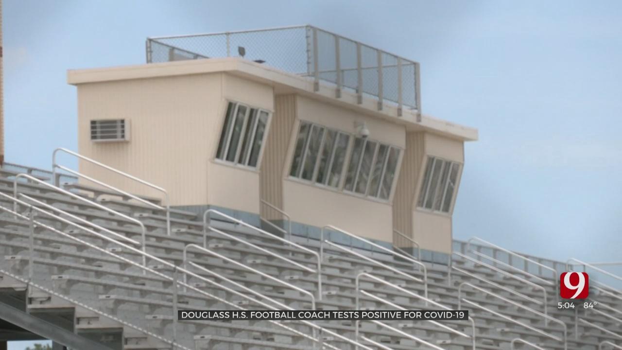 Douglass High School Football Coach Tests Positive For COVID-19