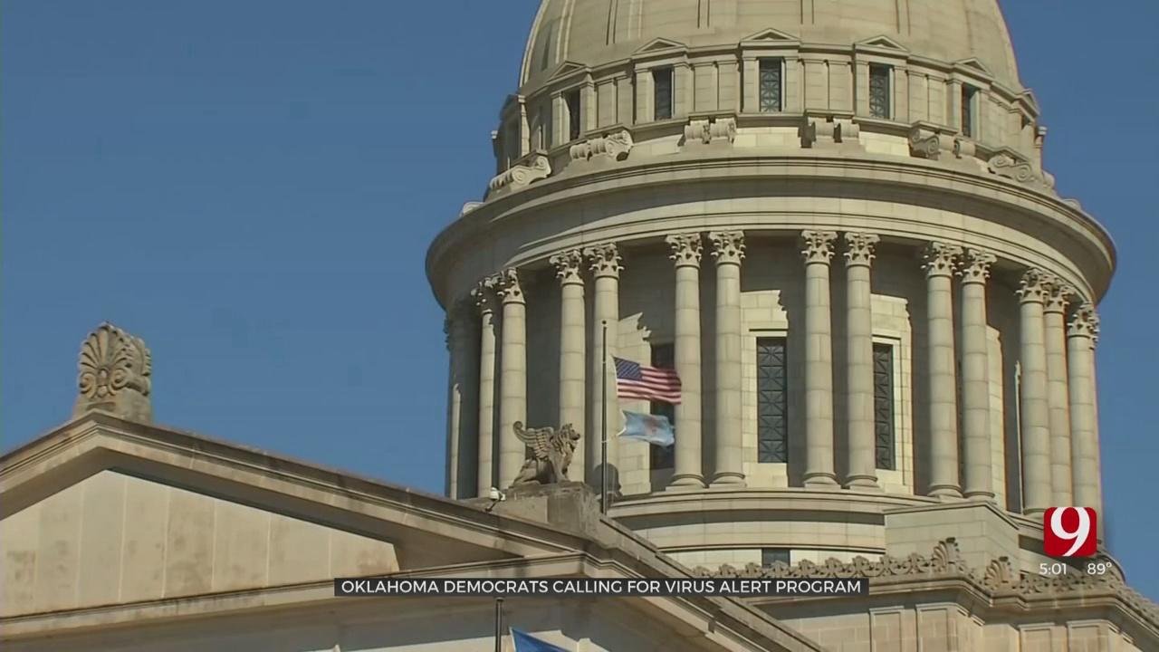 House Democrats Ask Gov. Stitt To Implement Oklahoma Virus Awareness Program
