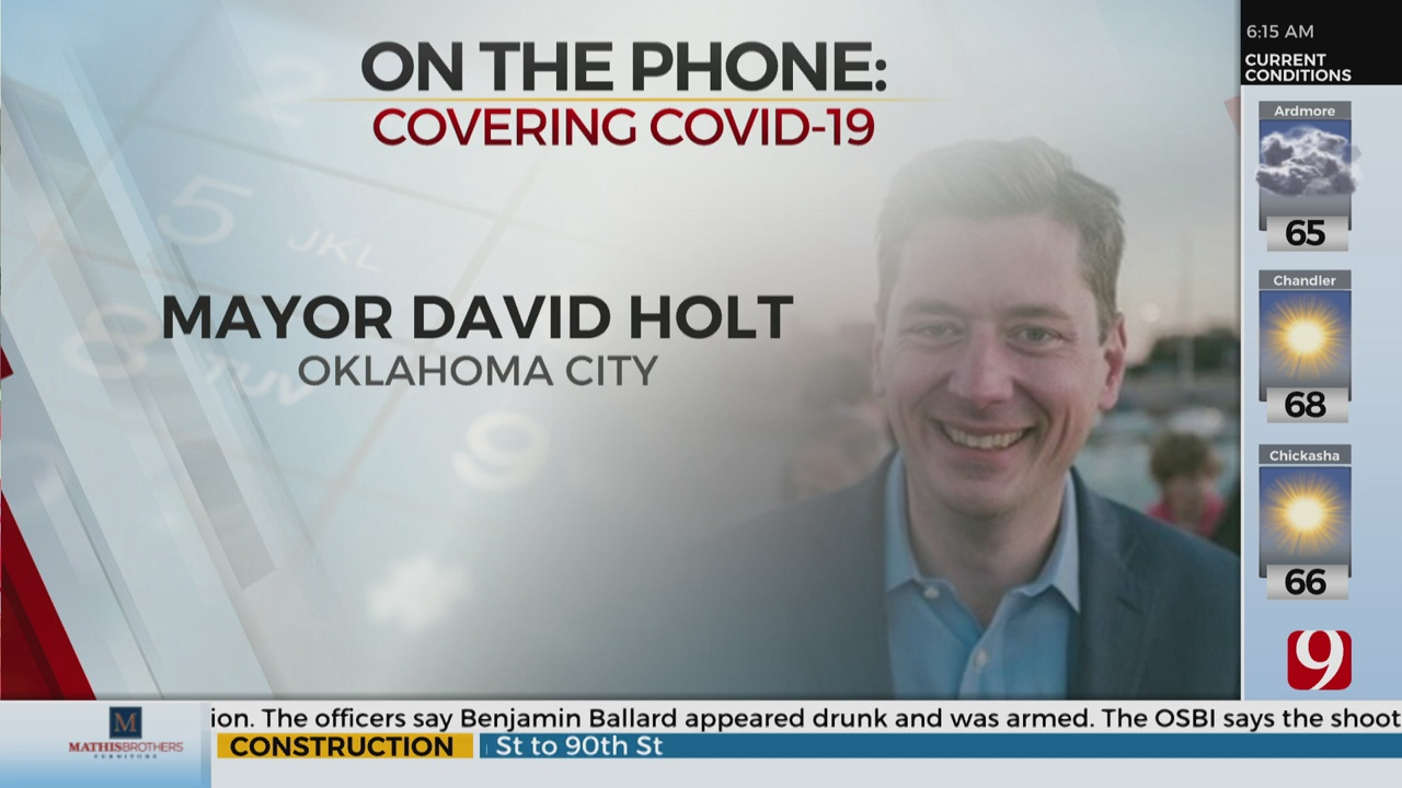 Watch: Mayor David Holt On Rising COVID-19 Cases In OKC