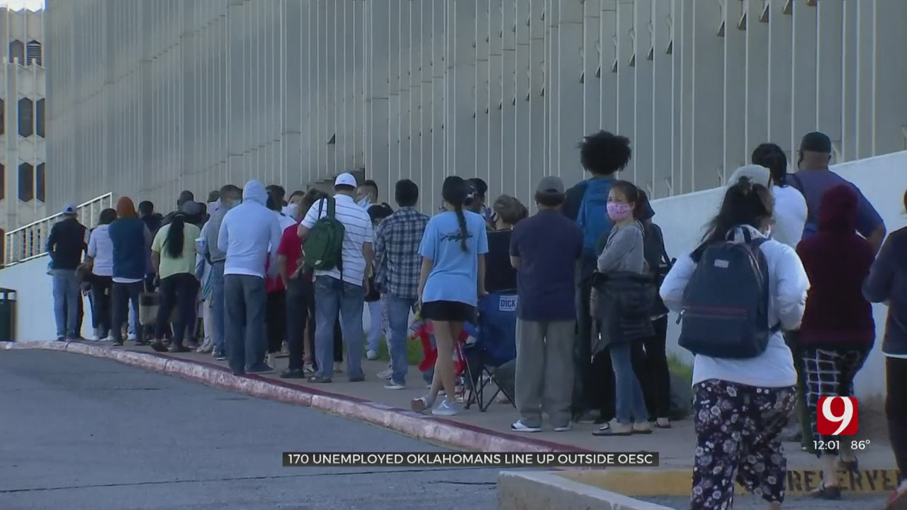Hundreds More Line Up At OESC Looking For Answers Surrounding Unemployment