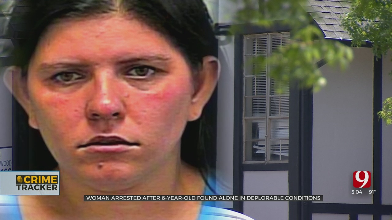 Woman Arrested After Officers Found Special Needs Child Alone In Filthy NW OKC Apartment