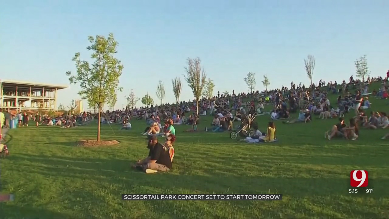 Live From The Lawn Kicks Off Friday Night At Scissortail Park