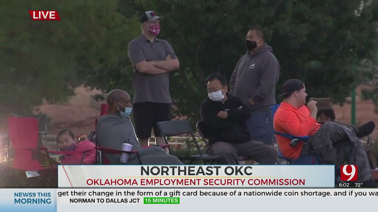 Okla. Congresswoman Kendra Horn Calls OESC Lines 'Heartbreaking'