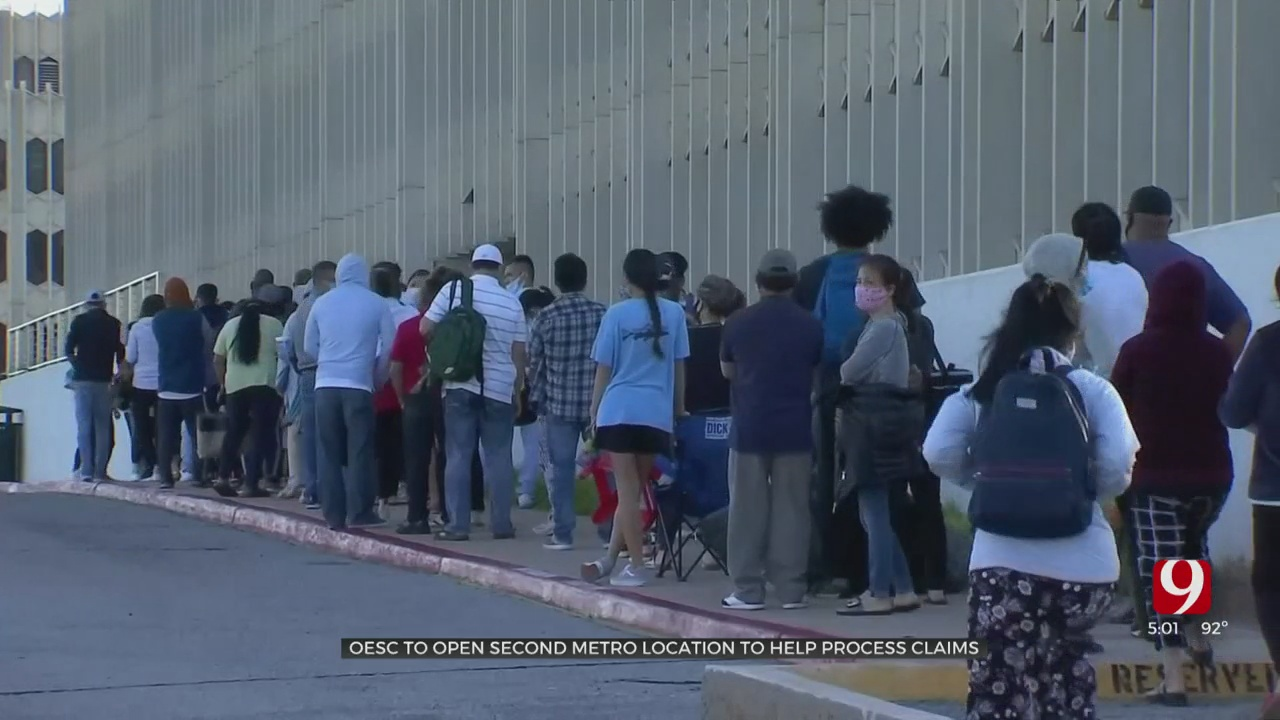 OESC To Open New Location After Week Of Long Lines In OKC
