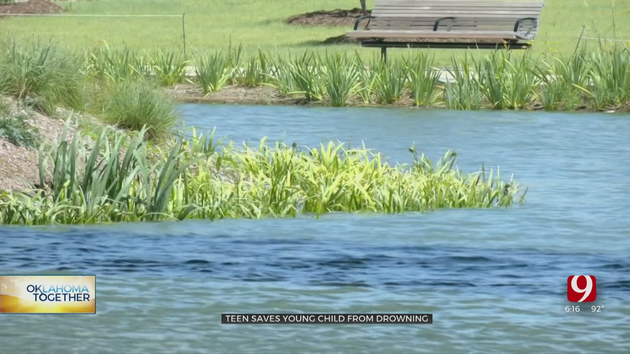 Teen Credited With Saving Toddler From Drowning At Scissortail Park