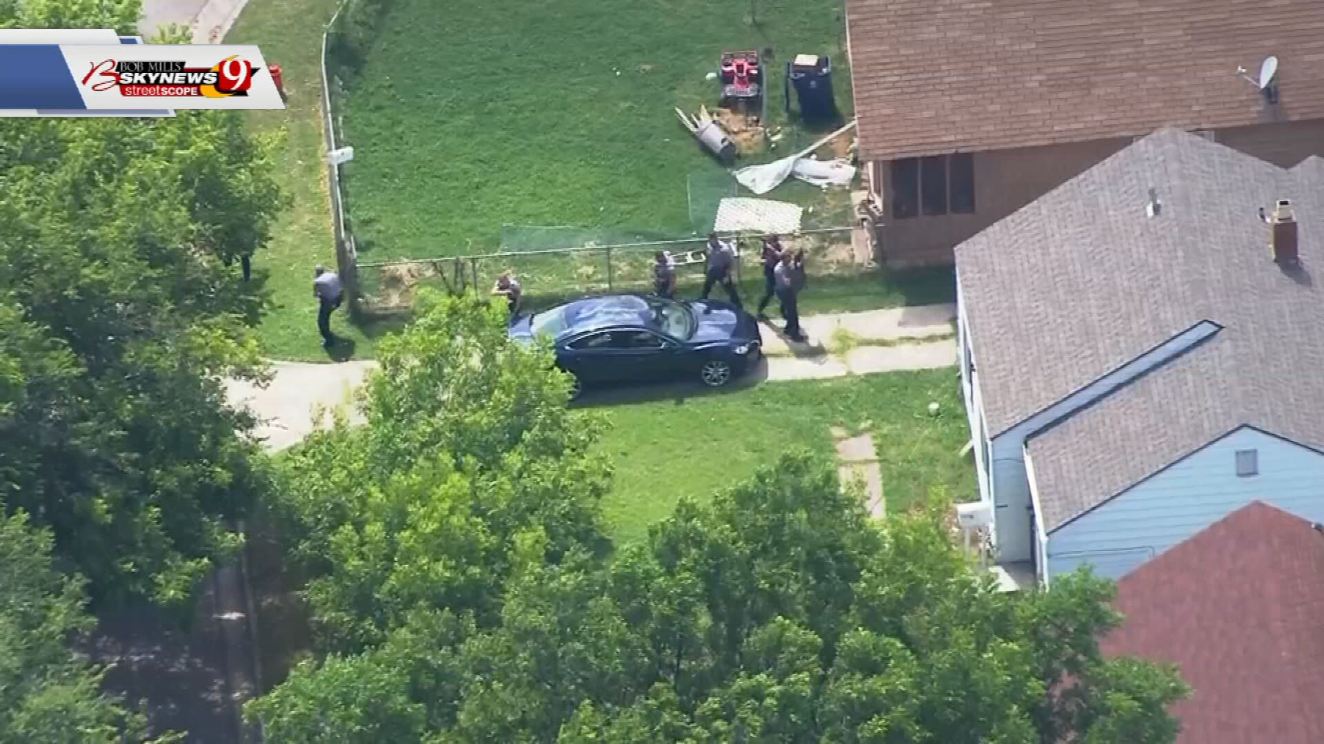 1 Person Dead, 1 Officer Hit After Long Standoff In OKC