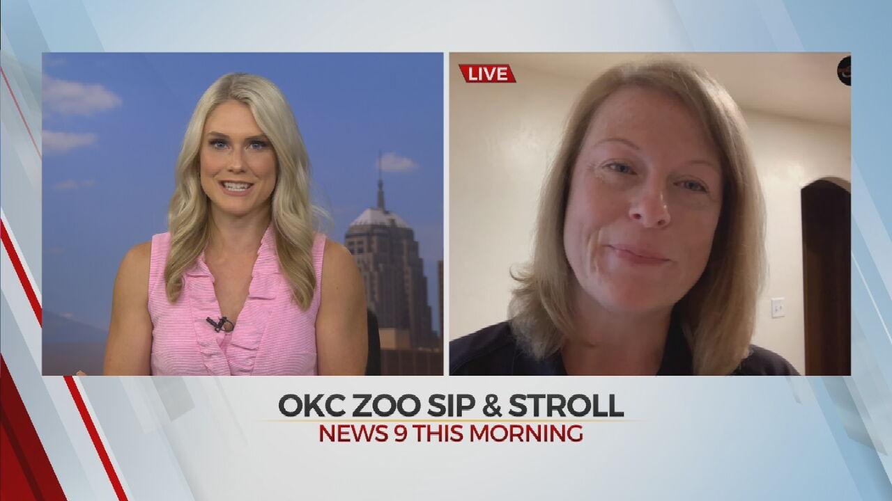 'Sip & Stroll' Nights Begin At OKC Zoo