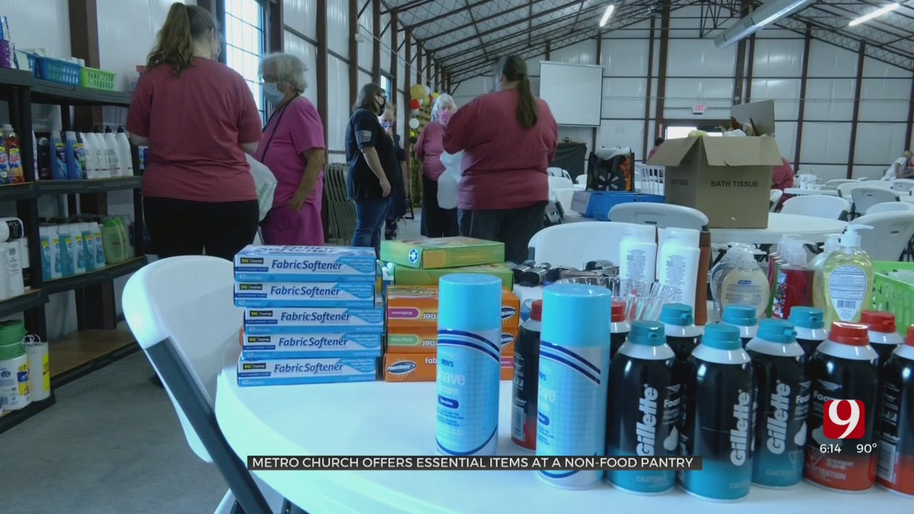 Oklahoma Together: Non-Food Pantry Open Again In Yukon