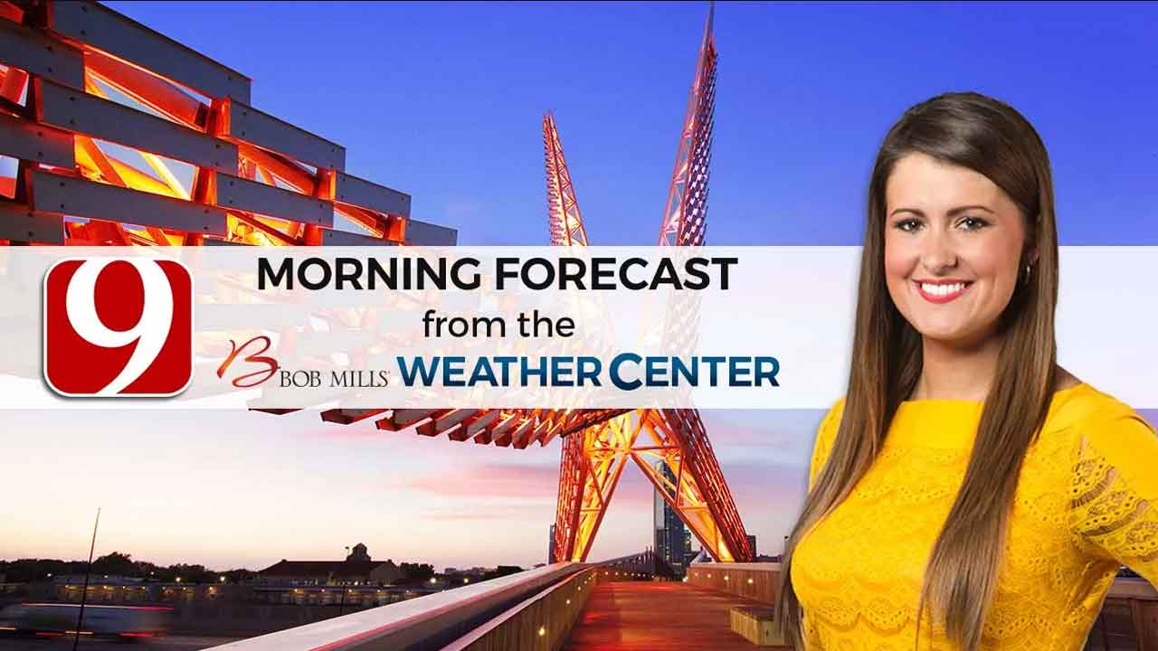 Lacey's 5 A.M. Monday Forecast