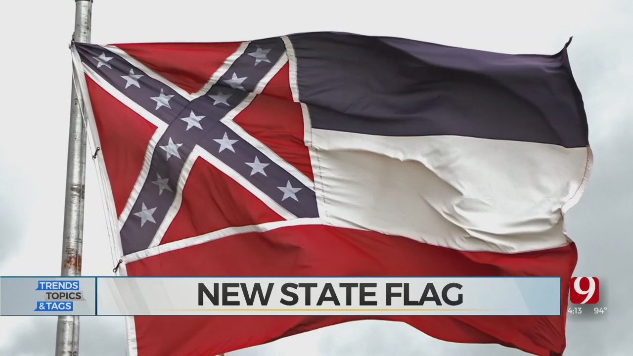 Trends, Topics & Tags: New State Flag For Mississippi?