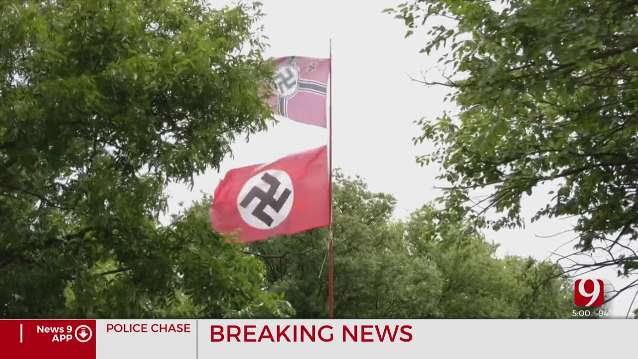 Man Arrested, Accused Of Shooting Woman Trying To Steal Nazi Flag From Garfield County Home