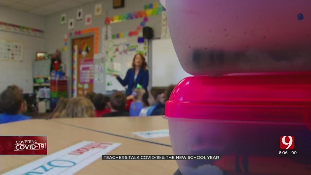 Oklahoma Teachers Express COVID-19 Concerns Ahead Of News School Year