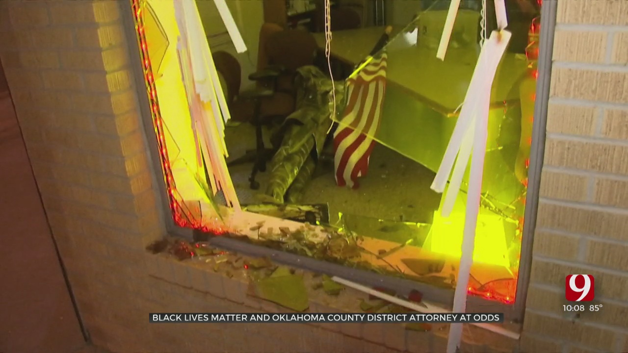 Black Lives Matter OKC Against Oklahoma Co. DA's Terrorism Charges For Protesters