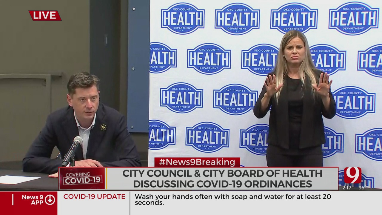 OKC Mayor Holt Recommends All Residents Wear Masks Outside Of Home