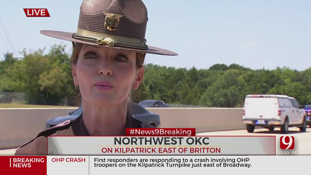 OHP Lt. Kera Philipi Provides An Update On Three Troopers Injured In A Crash