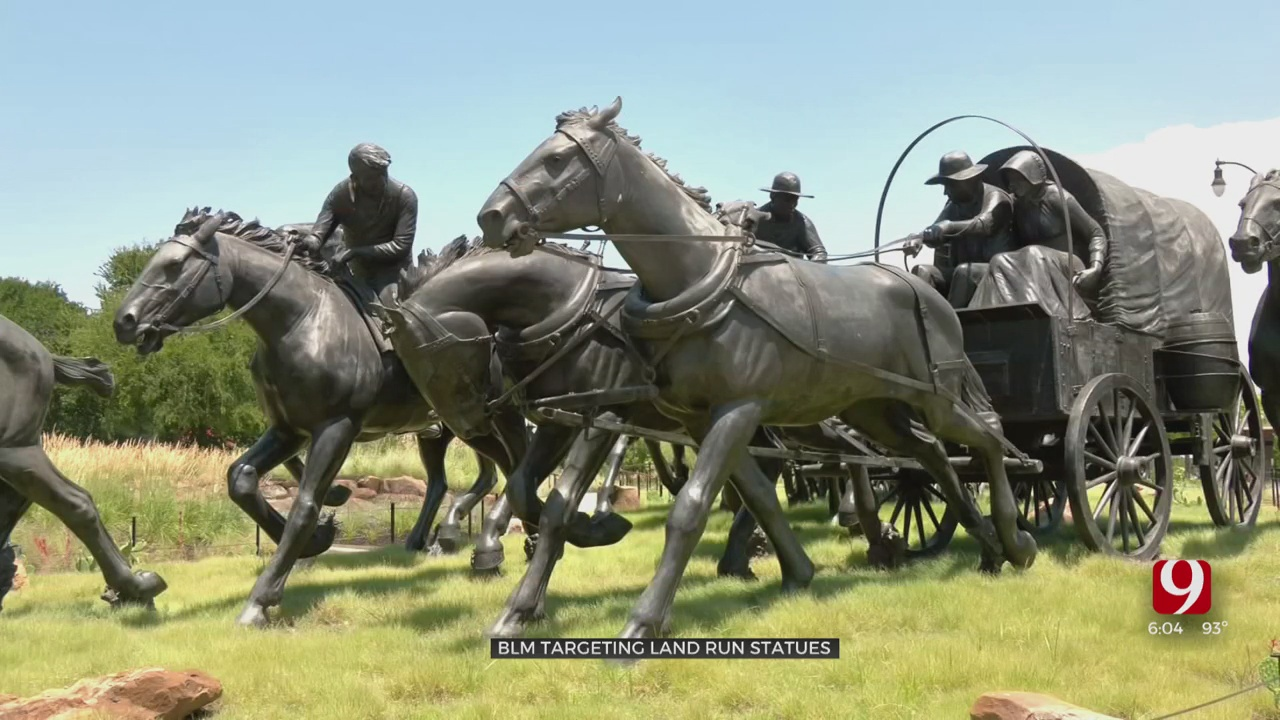 Group Targeting OKC Land Run Monument; Armed Volunteers Vow To Protect It
