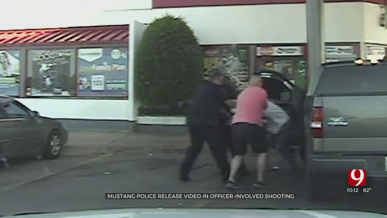 Dashcam Video Released In Fatal Mustang Officer-Involved Shooting