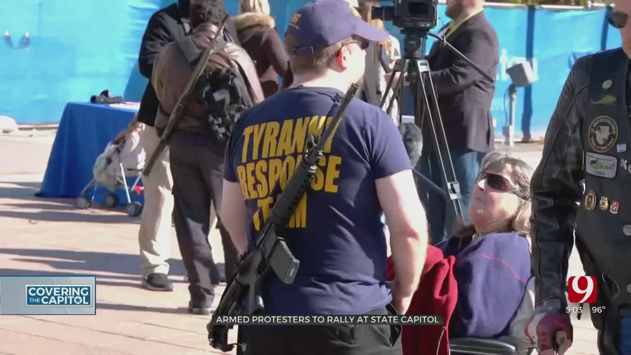 Armed Militia Group To Rally At State Capitol