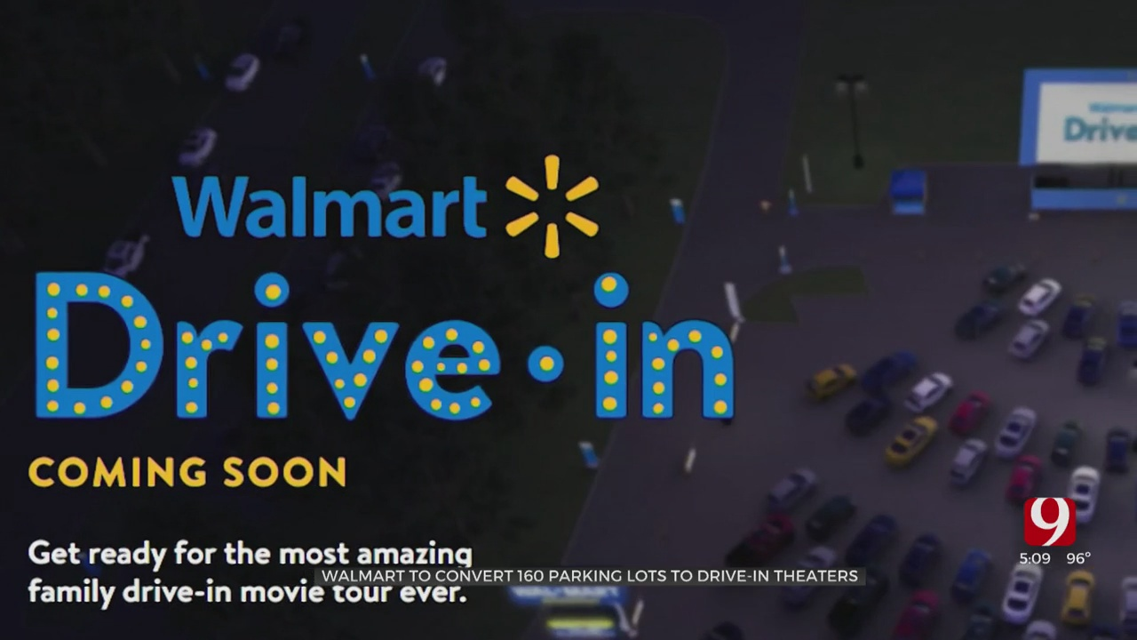 Walmart To Turn 160 Parking Lots Into Drive-In Movie Theaters