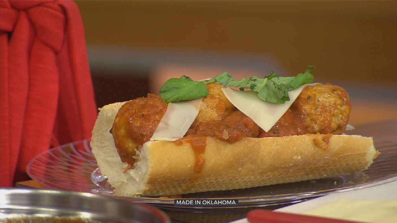 Meatball Sandwiches With Made In Oklahoma