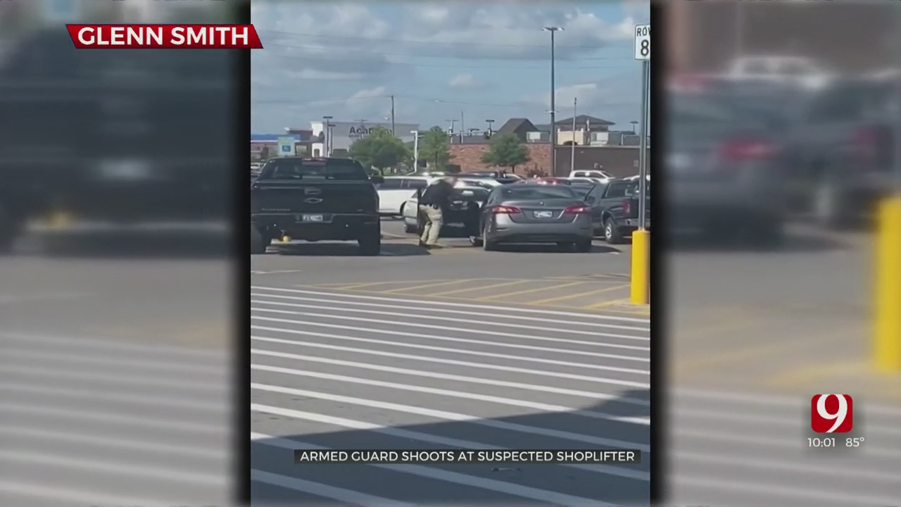 Off-Duty Police Officer Working Security Fires Shots At Alleged Shoplifter