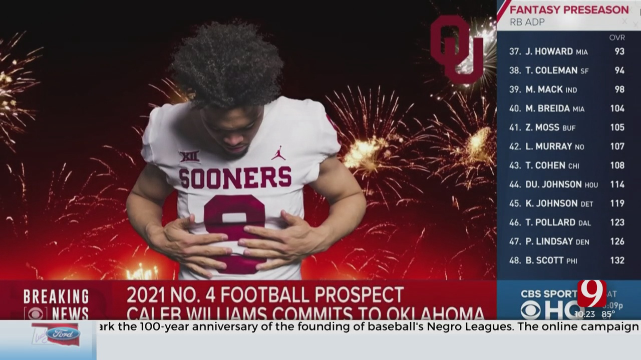 Caleb Williams, Top 2021 Dual-Threat QB, Commits To Oklahoma
