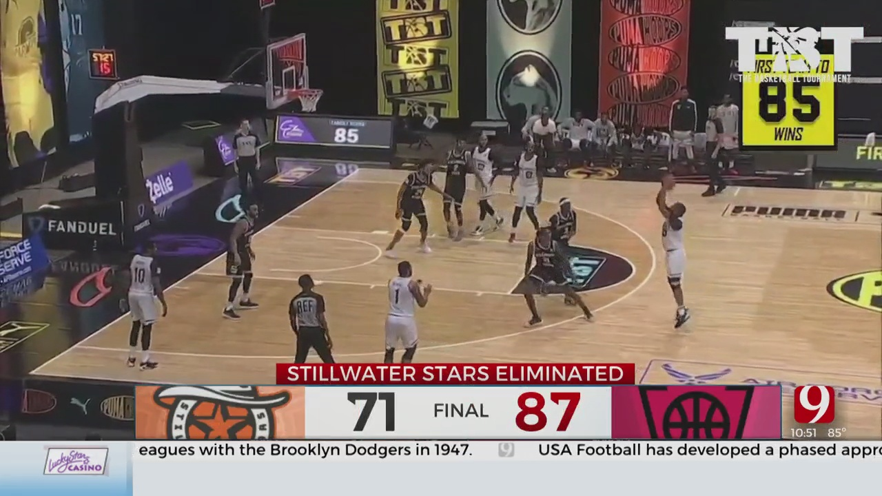 Hampered By Injuries, Stillwater Stars Knocked Out Of 'The Basketball Tournament'