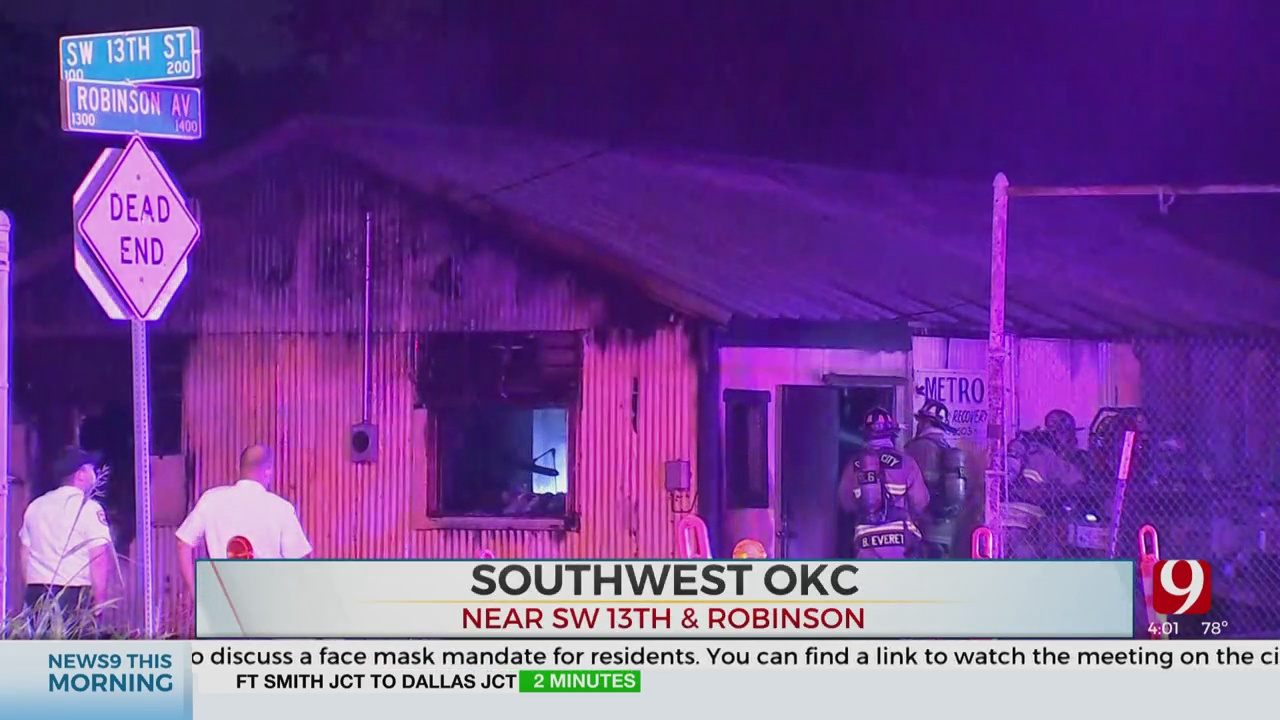 SW OKC Business Destroyed In Early Morning Fire