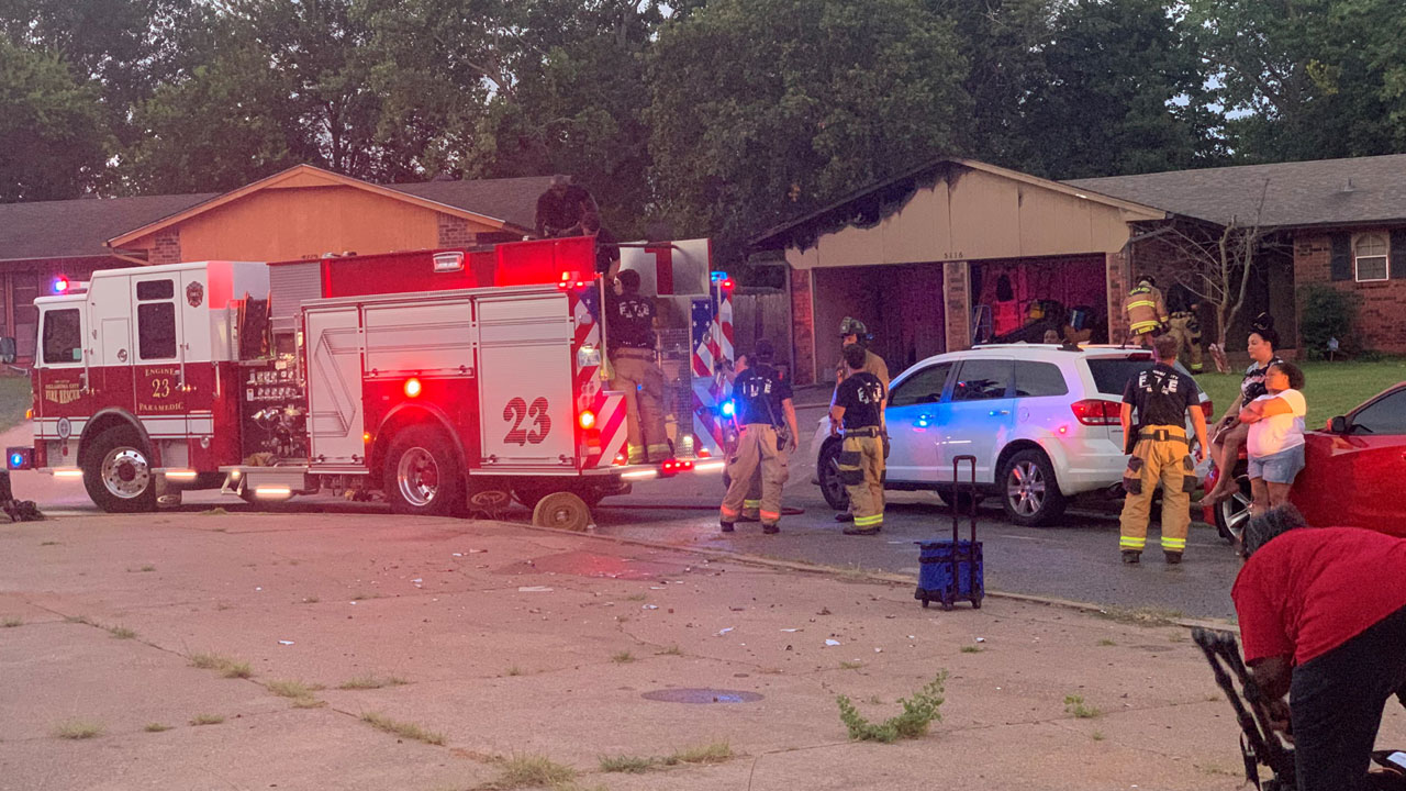 Firefighters Respond To SE OKC House Fire