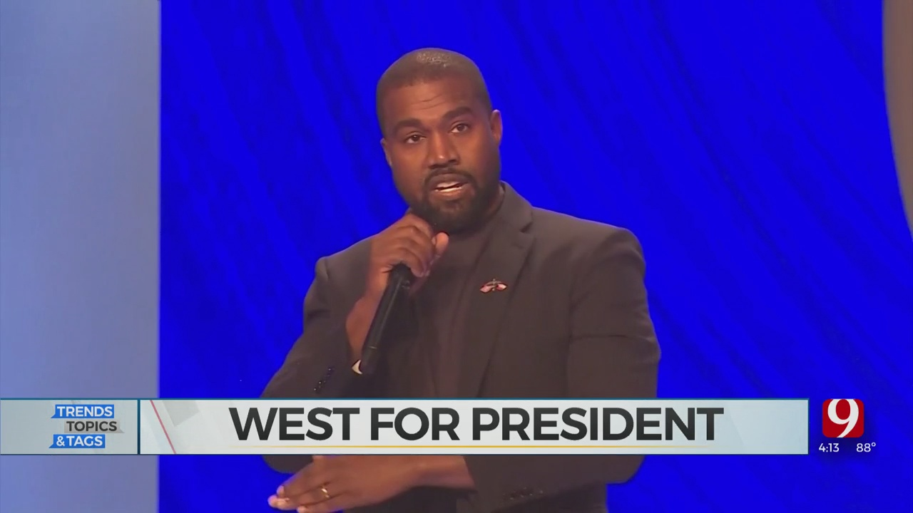 Trends, Topics & Tags: Kanye For President?