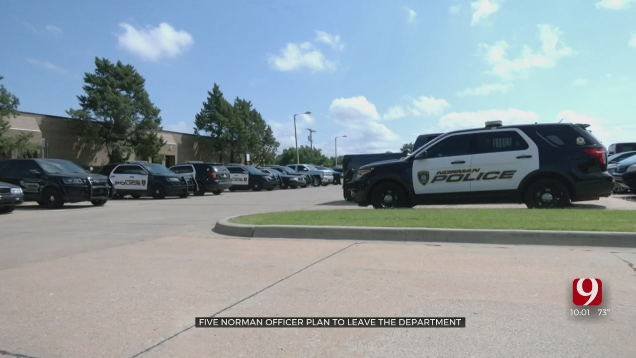Norman Officers Leaving Department After City Cuts Agency's Budget