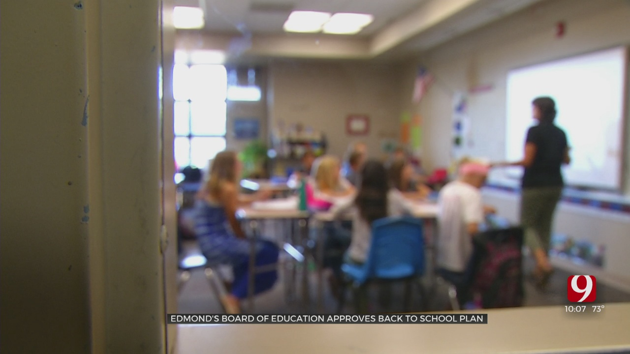 Edmond Schools Plan In-Person Return With Mask Requirements For Students, Staff
