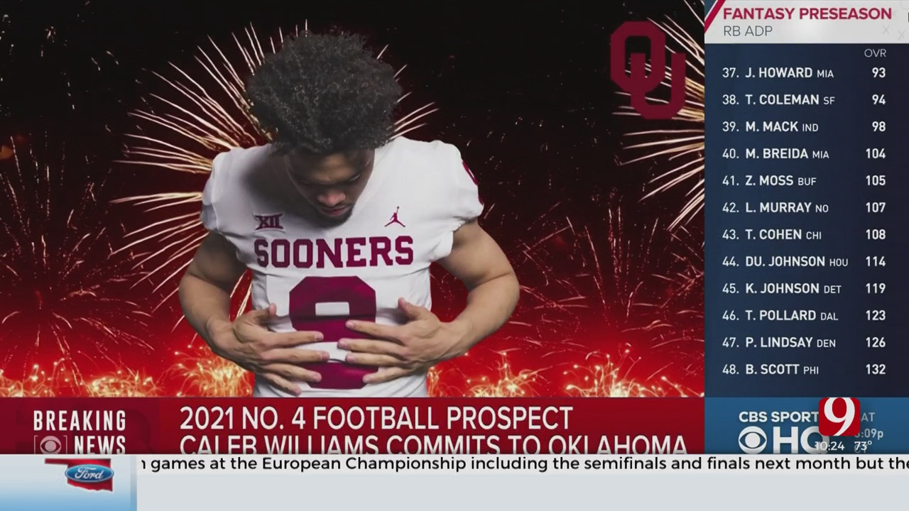 Dean's Take: 4th Overall National Prospect Caleb Williams Commits To OU