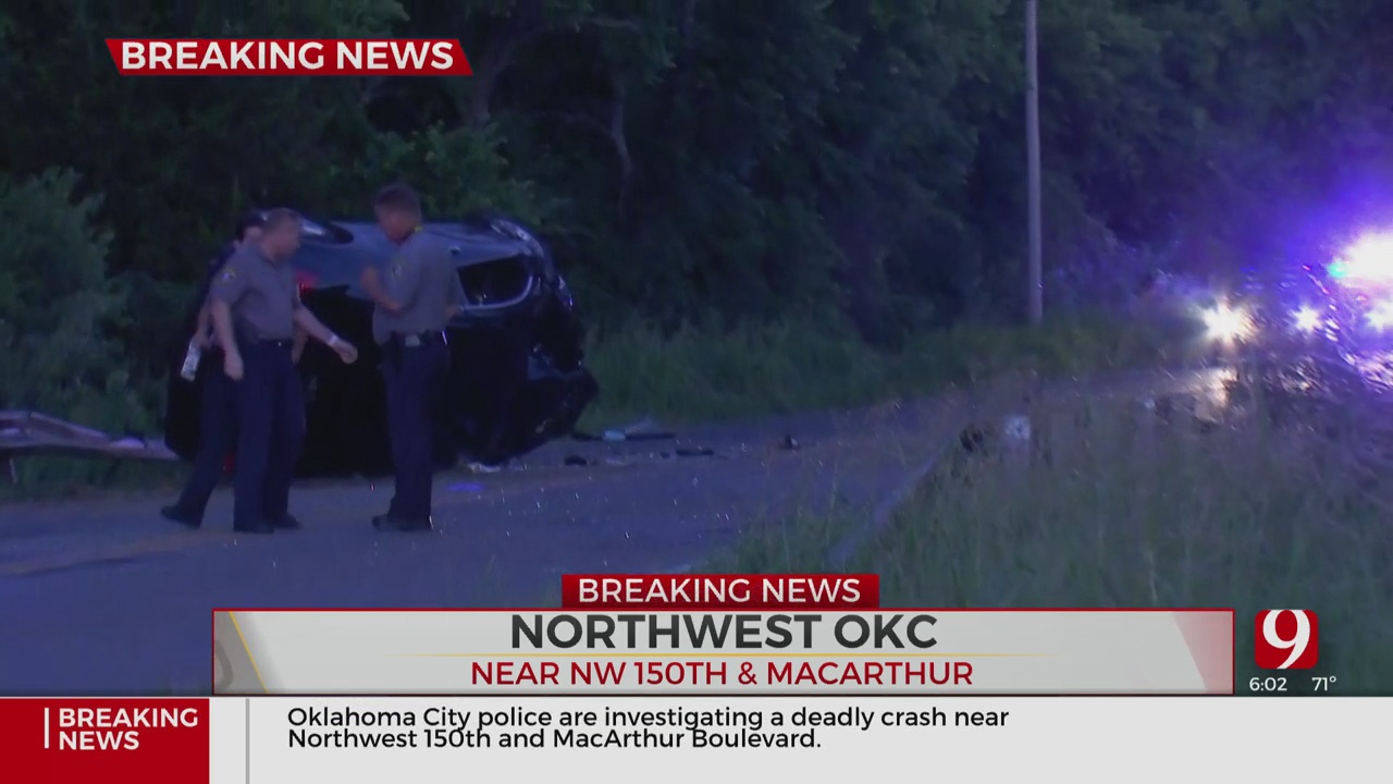 Police Respond To Deadly Crash In NW OKC