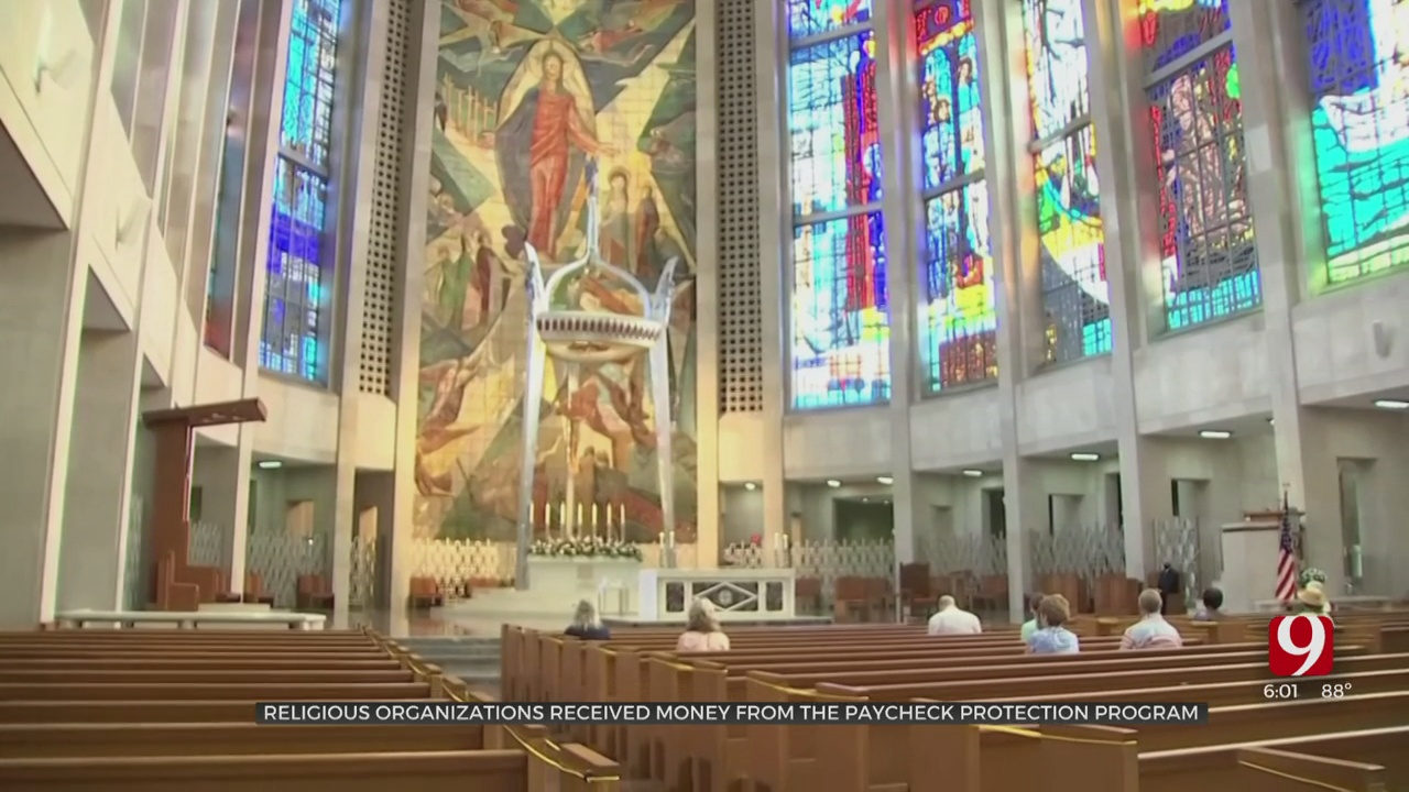 Oklahoma Churches Receive Millions In COVID-19 Funds, Spare Thousands Of Jobs