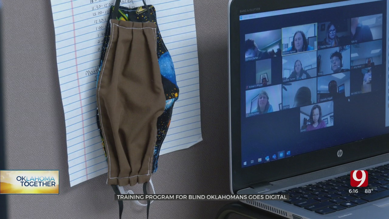 OKC Organization Goes Virtual To Help Blind Community