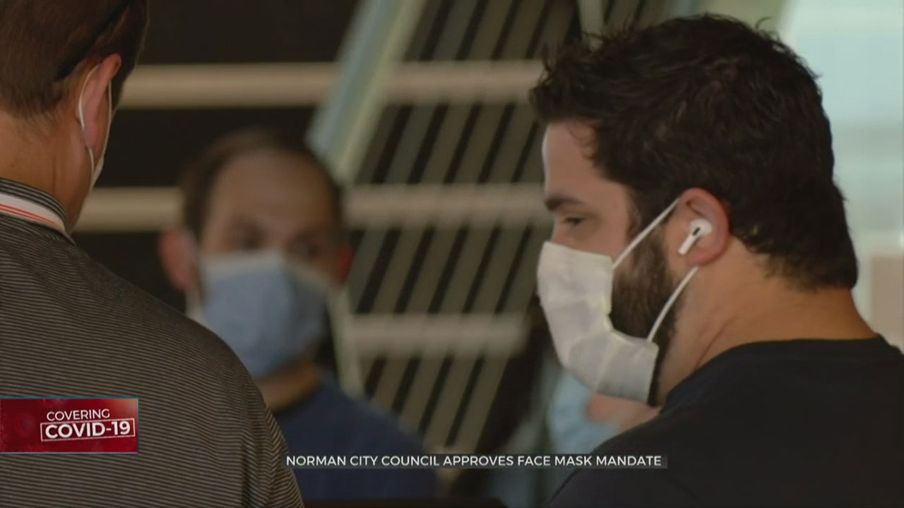 Norman City Council Approves Face Mask Mandate