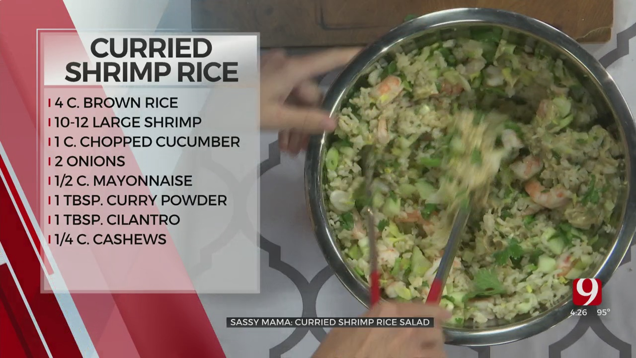 Curried Shrimp Rice Salad