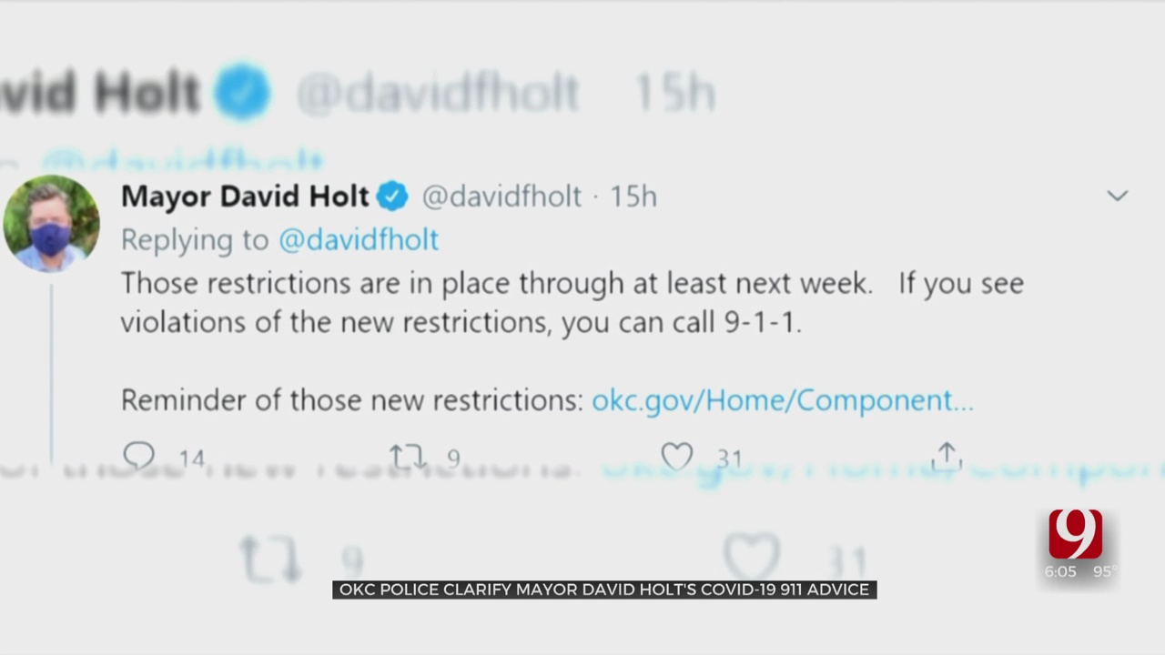 OKC Mayor Holt Doubles Down On COVID-19 Proclamation