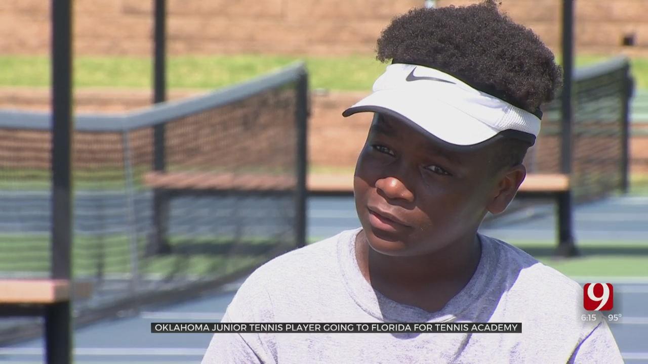 Oklahoma Junior Tennis Player Headed To Florida For Dream Trip