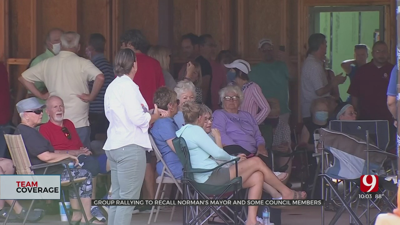 Group Rallies to Recall Norman City Council & Mayor
