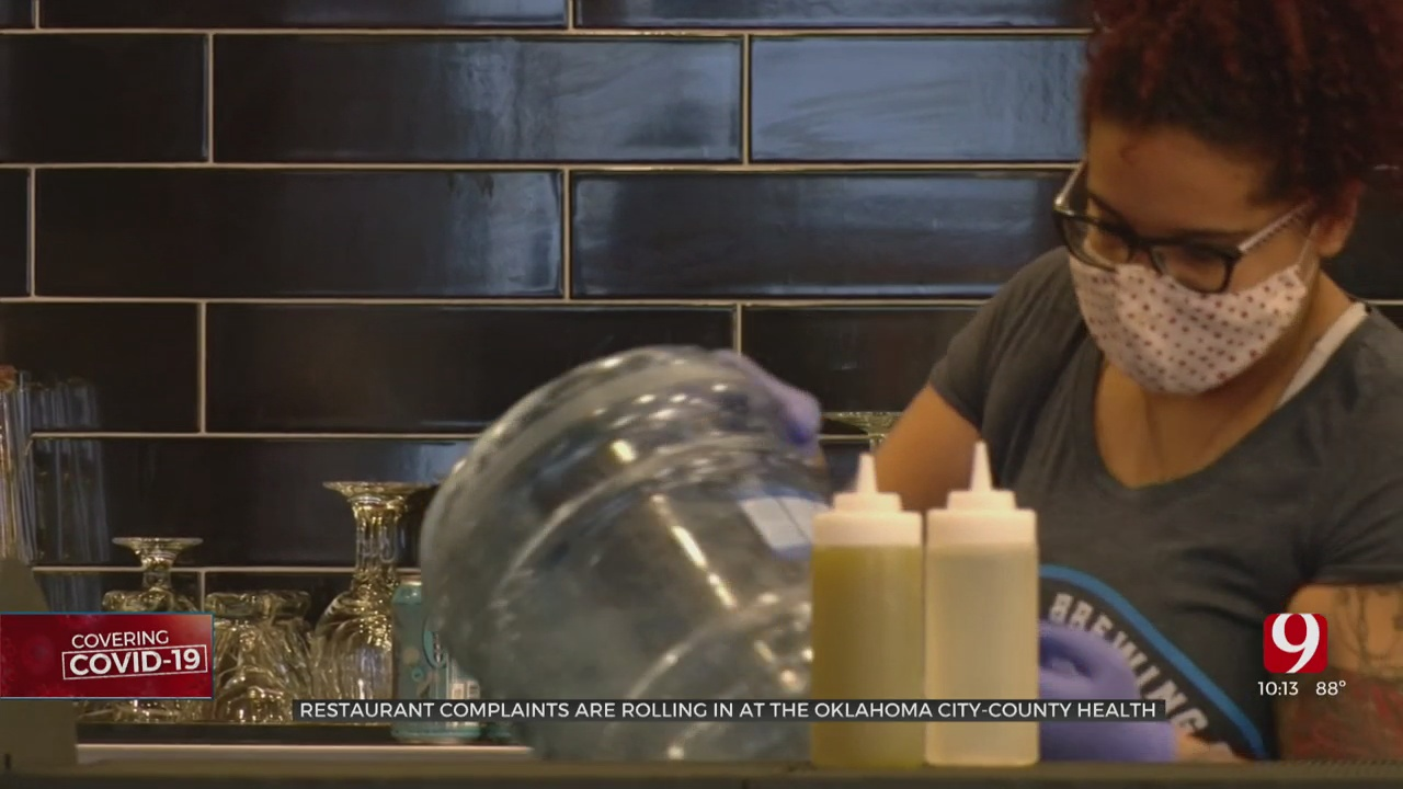 Health Department Sees Increase In Restaurant Complaints For Masks, Hygiene & Sick Employees