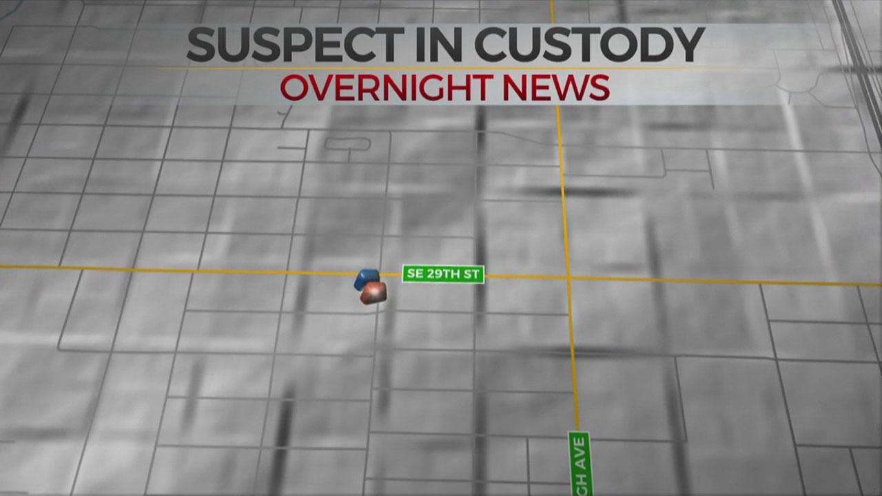 Overnight SW OKC Pursuit Ends With 1 In Custody