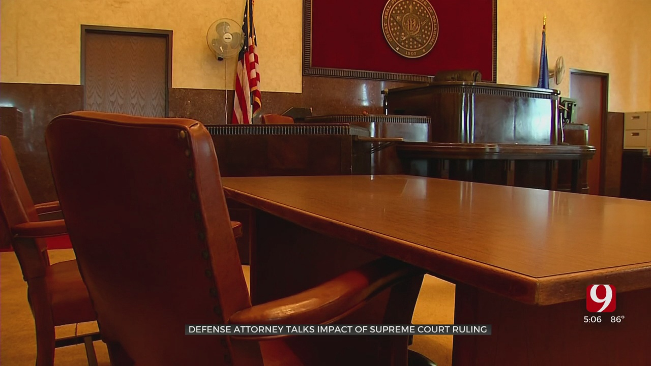 SCOTUS Ruling Could Have Impact On Oklahoma Criminal Justice System