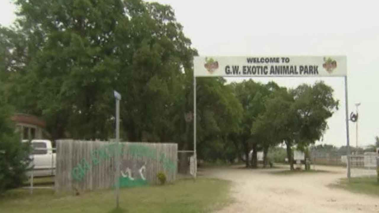 Garvin Co. Sheriff Says No Evidence Of Human Remains After Search At 'Tiger King' Zoo