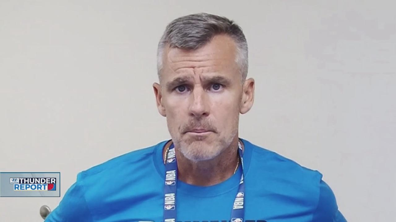 Thunder Coach Billy Donovan Assesses His Team Through 2 Practices In Orlando
