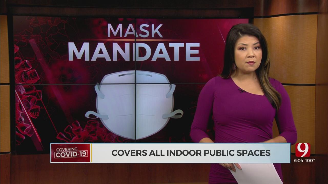 City Of Stillwater Mask Mandate Is Underway