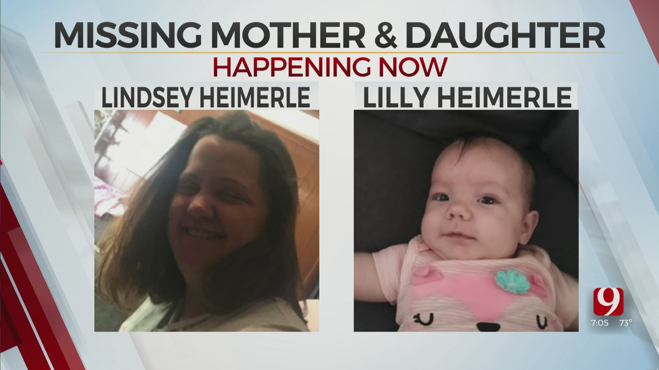 'Missing And Possibly Endangered' Mother And Daughter Reported In Oklahoma City