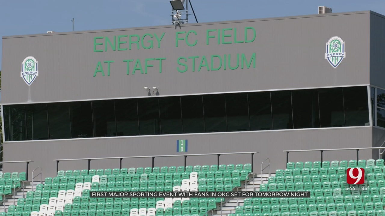 OKC Energy FC Re-Opening Season With Fans Monday Against FC Tulsa