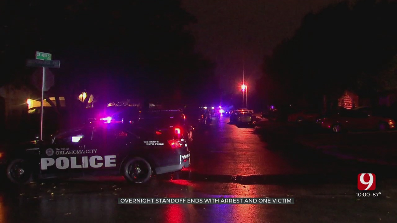 Police Standoff With Suspect Causes Property Damage In SW OKC